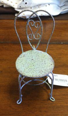 Mini Chair Napkin Ring/Pier One