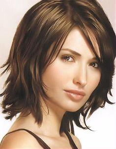 layered hair cuts new-hair Medium Hair Styles For Women, Medium Hair Cuts, Short Hair Cuts, Short Hair Styles, Medium Cut, Medium Haircuts For Women, Pixie Cuts, Medium Brown, Shag Hairstyles