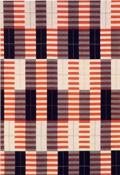 alfiusdebux:  Anni Albers, Wall hanging, 1926