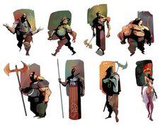 Eduard Visan - Character Design Page