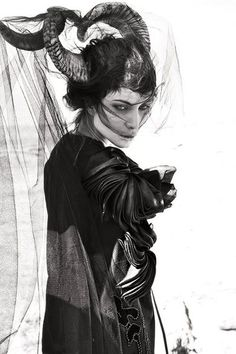 Source: Photographer: Gregory Regini    I love the expression, and the costume and the horns! The horns!