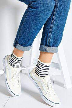 Süßer+Look:+Ringelsocken+zu+Sneakers+wie+Chucks+oder+Vans