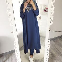 Likes, 28 Comments – Ebru ( on I… Islamic Fashion, Muslim Fashion, Modest Fashion, Fashion Dresses, Ootd Hijab, Hijab Chic, Hijab Outfit, Modele Hijab, Mode Simple