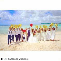 こちらも @hanacolle_wedding ハナコレさんで紹介していただきました❤️ ありがとうございます���� ・ ・ #Repost @hanacolle_wedding (@get_repost) ・ ・ ・ 【 ハナコレストーリー 】⠀ ・⠀⠀ ゲスト&ご家族の皆さまとのメッセージバルーン撮影✨⠀ ・⠀ 開放感あふれる、グアムのビーチでのショットです♪⠀ ・⠀ とても幸せそうな雰囲気が伝わってきますね*⠀ ・⠀⠀ こちらは @es_wd0422 さまのお写真♡⠀ すてきなご投稿ありがとうございました♡⠀⠀ ・⠀⠀ #wedding #bridal #weddingdress #weddingphoto #colorful #weddingceremony #photo #photoshooting #nature #結婚式 #ウェディング #ブライダル #ウェディングフォト #フォト#プレ花嫁 #卒花嫁 #ウェディングドレス #カラフル #おしゃれ #オリジナルウェディング #ハナコレ花嫁…