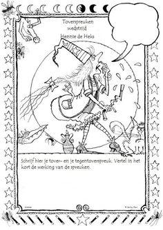 Toverspreukenwedstrijd - Hennie de Heks