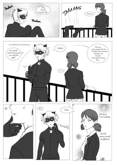 Purrrove it! Marichat part 3 (please read the pictures right to left!)