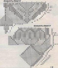 Kira knitting: Scheme knitted tablecloths 20