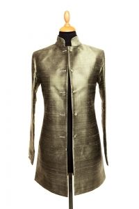 Womens long nehru jacket