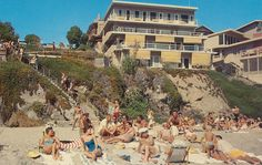 The Coast Inn - Laguna Beach, California That could be my mom there. I went up/down those stairs a million times