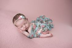 Baby Anne Newborn Session | Belleville IL Newborn Pictures by LDT Photography