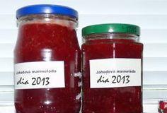 Jahodová marmeláda DIA