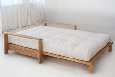 Cuba is a high quality futon sofa bed. The solid hardwood frame comes with a 7 layer futon mattress. Futon Diy, Cama Ikea, Futon Sofa Bed, Futon Bedroom, Sleeper Sofas, Bed Ikea, Chair Bed, Sofa Design, Pallet Furniture
