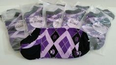 Purple Paw No Slip Slipper Socks - $1.00 Will be Donated to the ASPCA  #AnimalRescue #NoShow