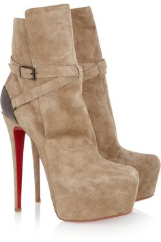Louboutin booties $1895.
