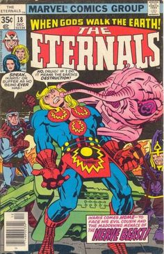 Eternals # 18 by Jack Kirby & Frank Giacoia