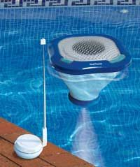 PoolTunes Wireless Speaker and Light #wirelessmusic #pooltunes #pool