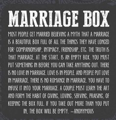 Marriage. ... this is wonderfully described #marriagequotes