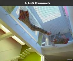 As if the Loft Hammock wasn't off the charts ILL - How bout them floating steps?