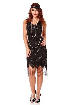 "Gatsbylady Glitz 1920's Vintage Inspired Fringe Dress in Black (8). BlackHandmade itemMaterials: soft mesh, soft jersey,Hand Embellished.Model Details: Dress: UK 8 (US4 AUS8 EU36)Height: 5'6"" (167.5cm) Bust: 33""(84cm) Waist: 24"" (61cm) Hips: 35"" (88.9cm). Soft Stretch Tulle and Polyamide Lining. Sleeveless above knee length. Slim size model details: Dress: US 4 Height: 5'6"" (167.5cm) Bust: 33""(84cm) waist: 24"" (61cm) hips: 35"" (88.9cm). Plus size model details: Dress: US 12 Height: 5'11""..."