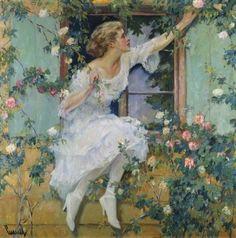 Edward Cucuel - Wild Roses