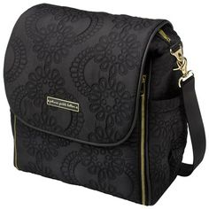 Petunia Pickle Bottom Diaper Bag Boxy Backpack Embossed Central Park North Stop Special Edition