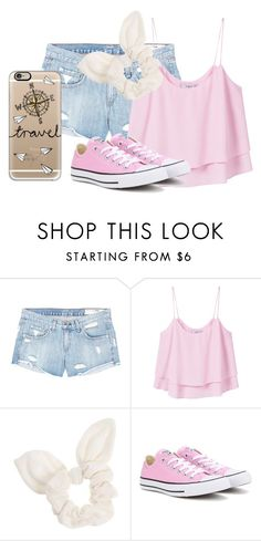 """Light Pink"" by smileforever1654 ❤ liked on Polyvore featuring rag & bone/JEAN, MANGO, Dorothy Perkins, Converse, Casetify, awesome, converse and lightpink"