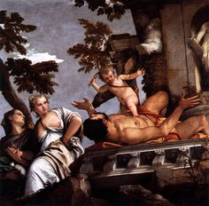 Paolo Veronese - The Allegory of Love II: Scorn ca 1575