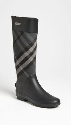 plaid boots