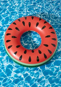 I'm Melon the Truth Pool Float - Multi, Red, Print, Quirky, Food, Summer, Good, Green, Beach/Resort, Fruits, Red