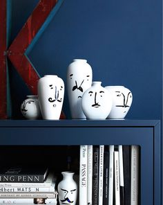 What a quirky collection of vases, very cool!
