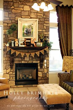 """One of these days these beautiful photos will also say, Do Not Pin! But for now... This is an easy way to decorate for halloween without changing much of your everyday decor and is so tasteful. Cheers to your beautiful and simple """"EEK"""" inspired mantel."""