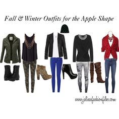 Fall & Winter Outfits for the Apple Shape by jalisasfiles on Polyvore featuring Giambattista Valli, H&M, Ballantyne, Zoe Karssen, J.TOMSON, AllSaints, dVb Victoria Beckham, J Brand, River Island and Object Collectors Item