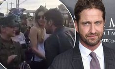 Gerard Butler accepts Camp Pendleton solider invitation to theMarine Corps prom | Daily Mail Online