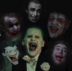 In order list your most favorite to least of these great Joker portrayals. Here's mine.....And feel free to express your opinions on your list !