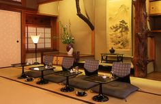 Kikunoi restaurant in Kyoto. Kaiseki style, or multi-course fine dining with beautifully prepared small dishes. Perfect way to eat like a Shogun!