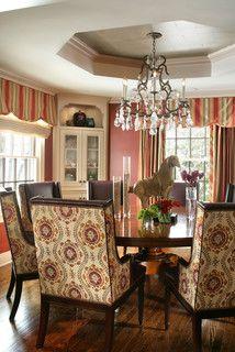 Corner Cabinet in Dining Room