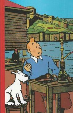 TINTIN Comic Movies, Comic Books, Illustrations, Illustration Art, Tin Tin Cartoon, Herge Tintin, Snoopy, Bd Comics, Wow Art