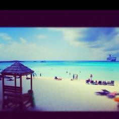 Half Moon Cay, Bahamas  - love the beaches