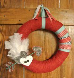 Valentine Arrow Wreath