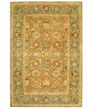 RugStudio presents Safavieh Anatolia AN549A Brown / Blue Hand-Tufted, Good Quality Area Rug
