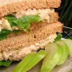 Good Base for Tuna - Darra's Famous Tuna Waldorf Salad Sandwich Filling Recipe