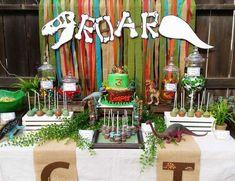 "Dinosaurs / Birthday ""Rawr-tastic 3rd Birthday"" | Catch My Party"