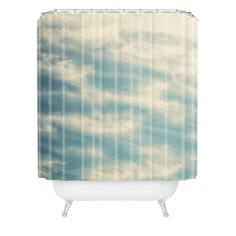 Shannon Clark Peaceful Skies Shower Curtain | DENY Designs Home Accessories