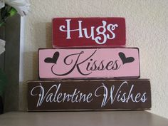 Hugs, Kisses, & Valentine wishes  :D