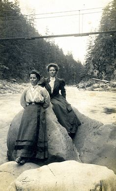 U.S. Women at Breitenbush Hot Springs Great Willamette Valley, OR, ca. 1900