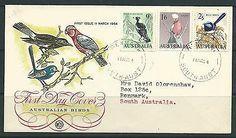 Australia 1964 Australian Birds 9d,1/6 & 2/5 on illustrated FDC, condn fine.