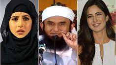 A Beautiful tribute of Veena Malik to Maulana Tariq Jameel and an important message - YouTube