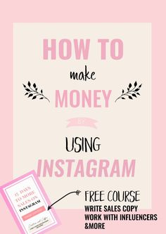 How To Make Money On Instagram: Four ways in which you can make either passive or active income using the Instagram platform. via @Creative and Coffee