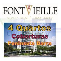 Font Vieille, Apartamentos de 4 quartos na Peninsula da Barra da Tijuca