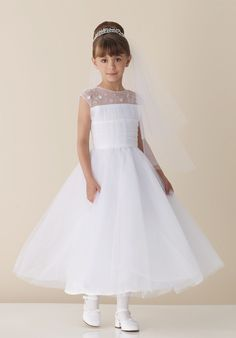 Discount Pretty Ball Gown Organza Scoop Neckline Tea Length Flower Girl Dress (FGD-051) Online